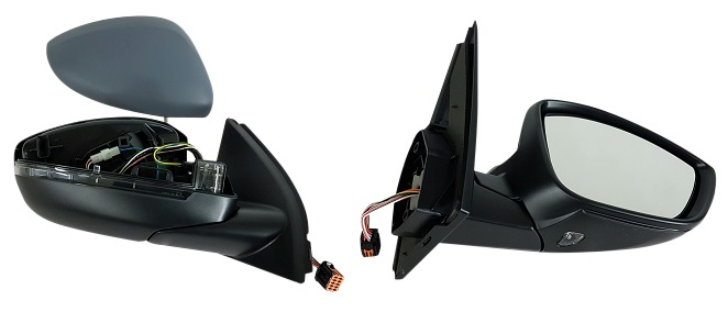 PEUGEOT 308 14 Door Mirror Electric Power Fold Lamp Right Drivers Offside RH O
